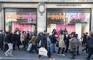 christmas shopping millions take to the high street to