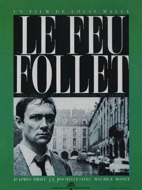 libro le feu follet dadieu le feu follet film 1963 senscritique
