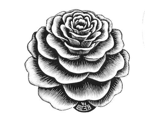 flower 1961 m c escher wikiart org