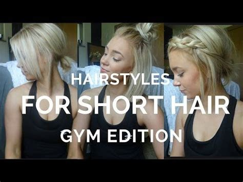 short hair styles for gym workouts 1000 images about hair on pinterest short blonde