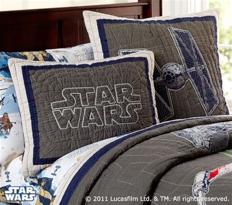 Wars Quilted Bedding by The Tie Fighter Pillow Rocks Wars X Wing Tie