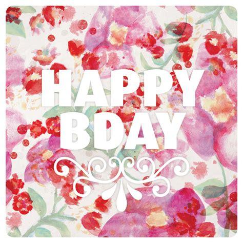 bloemen verjaardag gedicht aquarel bloemen verjaardag kaartje verjaardagskaarten
