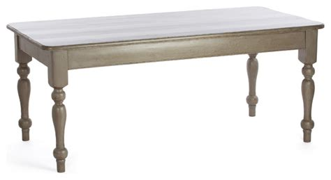 st cottage table distressed white 8 foot