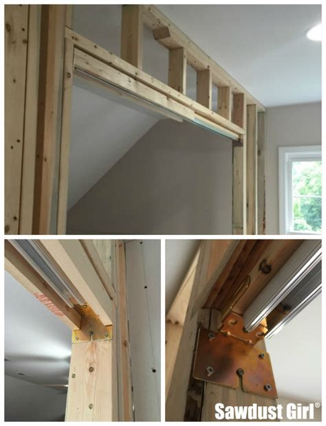How To Hang A Pocket Door by How To Install A Pocket Door Frame Sawdust 174