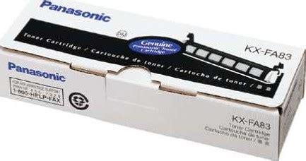 Toner Kx Fa83e panasonic toner cartridge black kx fa83e buy best
