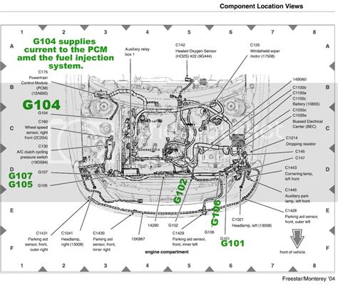 ford freestar wiring diagram