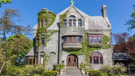 mini castles  sale  romanesque revival houses  buy