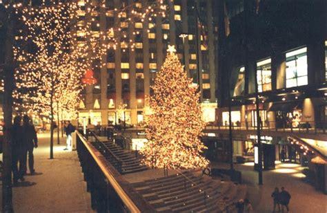 hancock center christmas tree