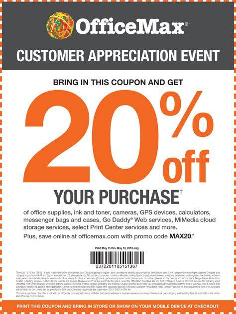 office depot officemax coupons get 20 coupon review