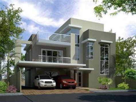 3 Story Homes 3 Story Modern House Plans Modern Mansions Three Story