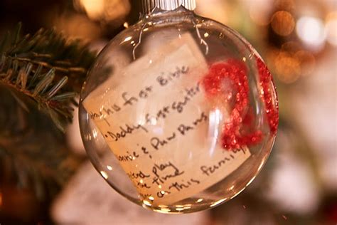 what to put on a christmas ornament in memory of someone 25 ideas for decorating clear glass ornaments the ornament