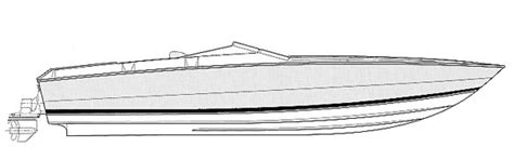 bullet boats stinger anyone have a bullet line art drawing offshoreonly