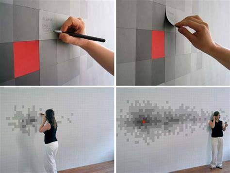 Pixelnotes Wallpaper Reinvents The Post It by Pixelnotes Le Papier Peint Avec Des Post It The