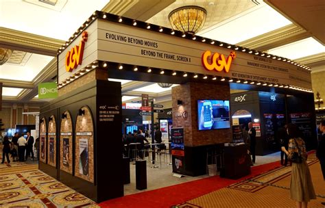 cgv cinemas cj cgv wraps successful cinemacon as cultureplex comes to