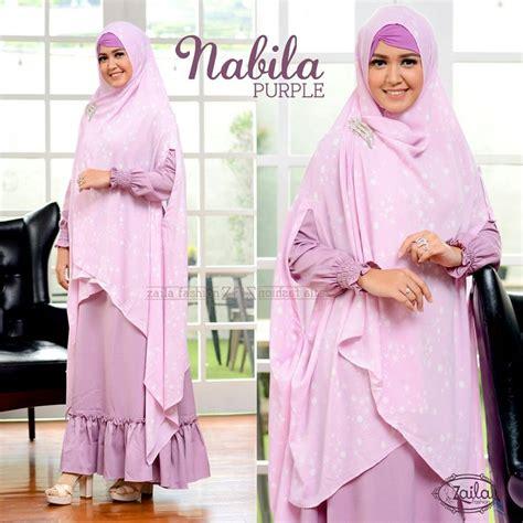 Dress Zaila nabila by zaila fashion jual busana muslim