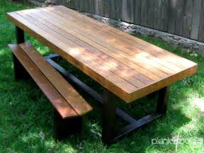 Outside Patio Table Furniture Atlanta Contemporary Outdoor Patio Furniture Custom And Handmade Plank