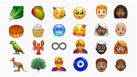 lobsters and cupcakes apple shows new ios emojis