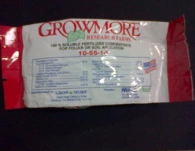 Growmore Pupuk Bunga pupuk growmore 10 55 10 100 gram jual tanaman hias