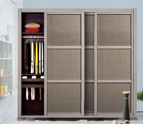 porte garde robe coulissante mesure porte coulissante de cuir d unit 233 centrale pour la garde