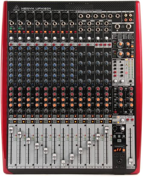 Mixer Audio Behringer 16 Chanel behringer xenyx ufx1604 16 channel end 12 16 2016 5 15 pm