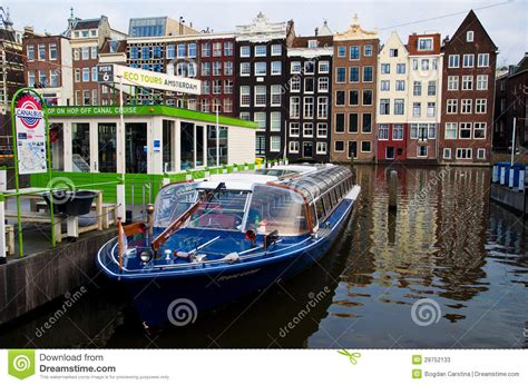 museum near amsterdam central station tour boat in amsterdam editorial stock photo image 29752133