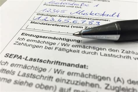 bank einzugsermächtigung widerrufen lastschriftr 252 ckgabe so geht das der der berliner