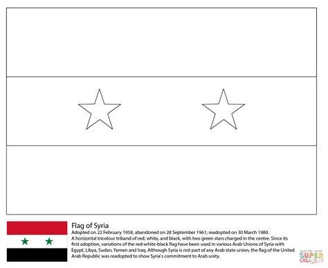 Ausmalbild Flagge Von Syrien Ausmalbilder Kostenlos Zum Philippines National Flag Coloring