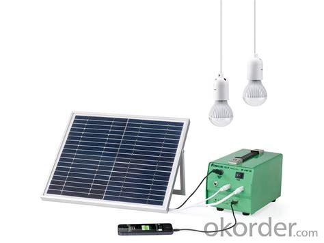 Buy Solar Lighting System Dc Gt 10w Solar Lighting System