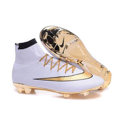 Sepatu Fly New Phantom Gold new nike mercurial superfly iv fg soccer boots gold white