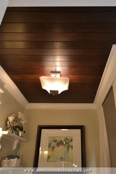 bathroom wood ceiling ideas ceiling decorating ideas diy ideas to add interest to