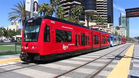 San Diego Light Rail san diego trolley sdmts light rail tram