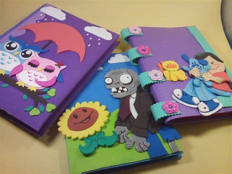 cuadernos decorados de unicornio con foami cuadernos decorados bs 0 05 en mercado libre
