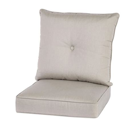 Replacement Patio Chair Cushions Hton Bay Broadview Sunbrella Spectrum Dove Replacement Outdoor Lounge Chair Cushion Frs60490