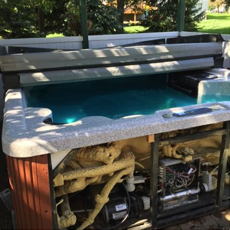 Cottage Grove Pool by Tub Damaged By Lightning In Cottage Grove Mn