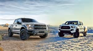 Ford Of Tacoma 2017 Ford Raptor Vs Trd Pro Tacoma Shift Supercars