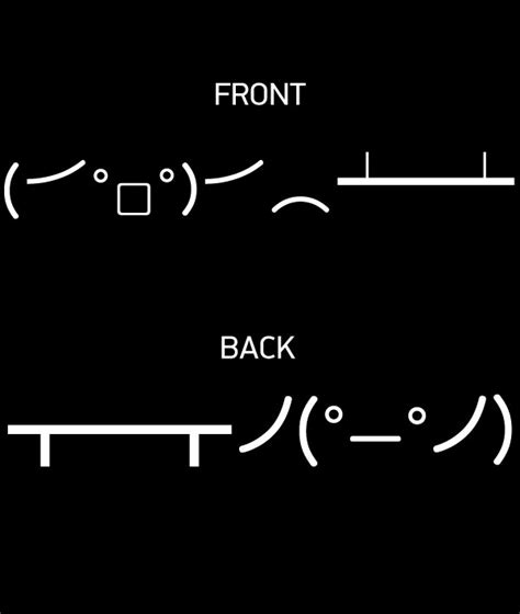 Table Flip Ascii by Table Flip Meme Ascii Image Memes At Relatably