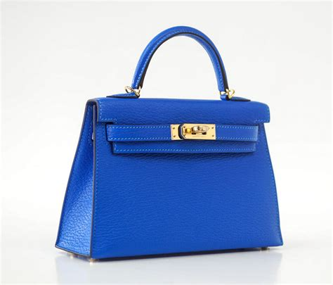 Tas Hpo Hermes Hrg Sale hermes bag 20cm mini ii blue hydra chevre gold