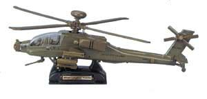 Diecast Metal Helicopter 595 A 34 ah 64 apache helicopter 1 48 army green motormax diecast ah 64 apache helicopter 1 48
