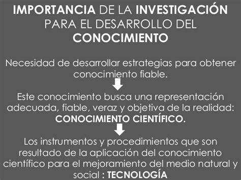 investigacin sobre el conocimiento metodolog 237 a de la investigaci 243 n
