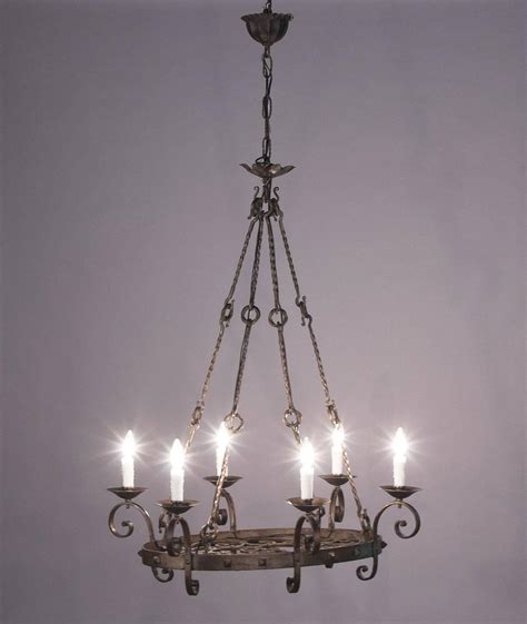 Black Wrought Iron Chandelier Revival Black Wrought Iron Chandelier Circa