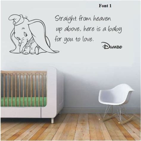 decals for room details about wall stickers dumbo the elephant from heaven vinyl decal decor nursery