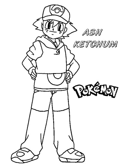 Coloring Books Ash Ketchum Pokemon To Print And Free Download Coloring Pages Xy