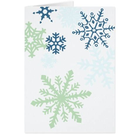 Seasons Greetings Card Templates Free by Seasons Greetings Snow Flake Template Card Zazzle