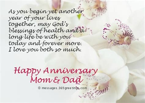 Maariage Aniversary Sma For Chacha Chachi by Happy Anniversary Greetings For Parents Nicewishes