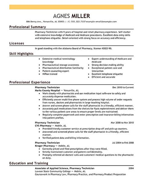 Pharmacy Assistant Objective Resume by Pharmacist Resume Objective Sle Annecarolynbird