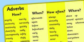 Adverb Mat by Adverb Word Mat For Visually Impaired Adverb Mat Visually