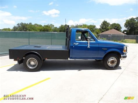 1994 ford f350 1994 ford f350 xlt regular cab chassis in medium lapis