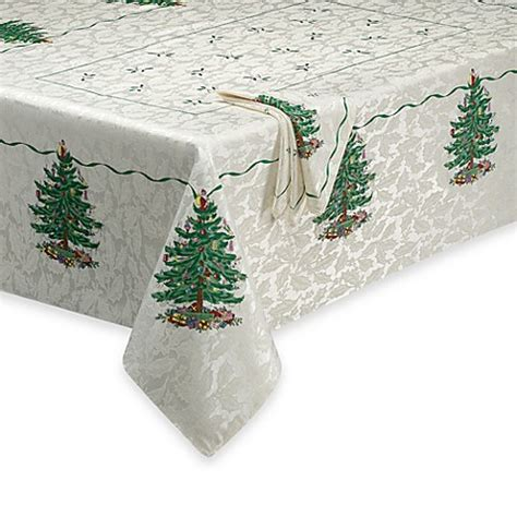 bed bath and beyond christmas tree avanti spode 174 christmas tree 70 inch round tablecloth