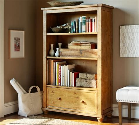 cortona bookcase pottery barn