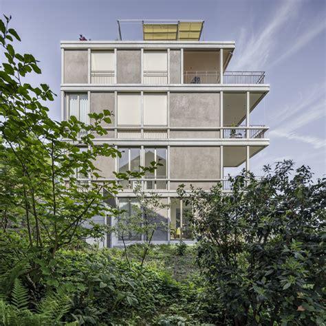 Villa Grundriss 2 Stöckig by Stadtvilla In Luzern Arc Award